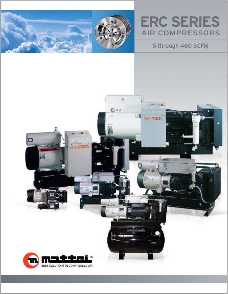 ERC Series Open-Frame Air Compressors