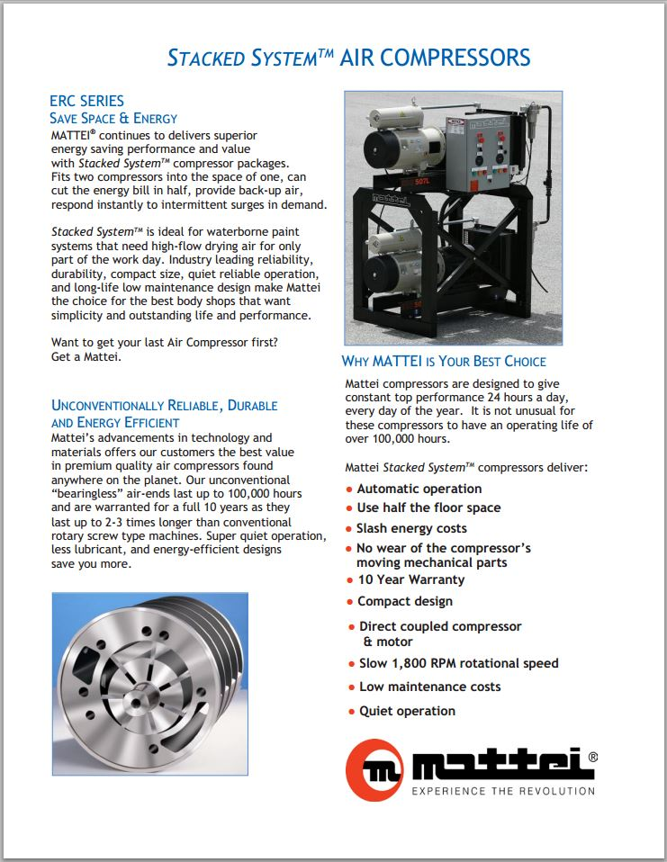 Stacked System Air Compressors