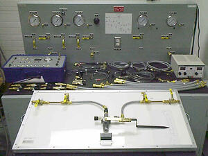 Pneumatic Equipment Test Bench